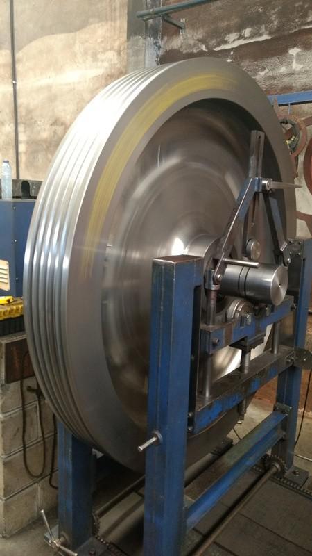 Balanceamento dinâmico industrial