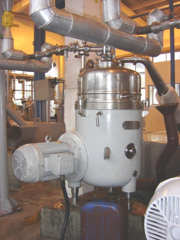 Centrífuga de biodiesel