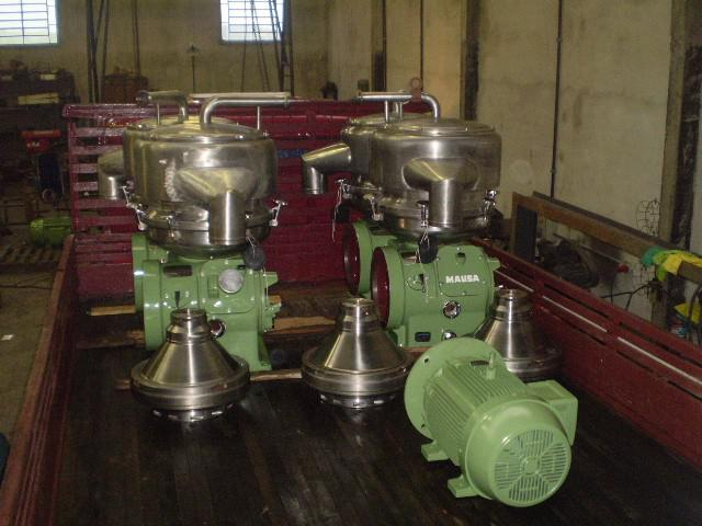 Conserto centrifuga
