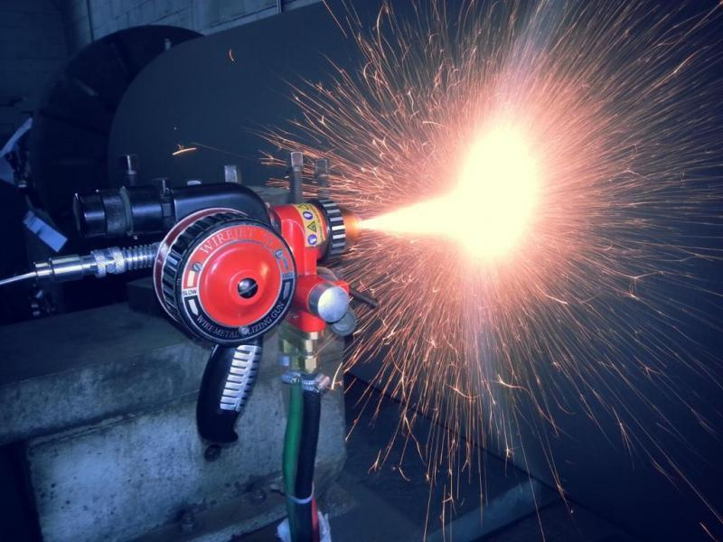 Metalização de peças