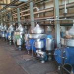 Manutenção e reforma em centrífugas