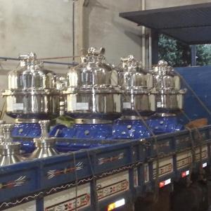 Manutenção em centrífugas alfa laval